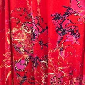Babaton Dresses - Sleeveless red dress